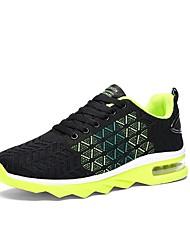 hesapli -Erkek Ayakkabı Örümcek Ağı Yaz Atletik Ayakkabılar Koşu Dış mekan için Beyaz / Sarı / Kırmzı