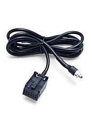 Недорогие -автомобильный радиоприемник cd-плеер вспомогательный аудио кабель aux для Ford Focus 2 MK2 Ford Mondeo Aadpter Провод