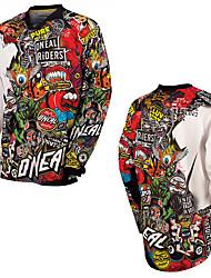 Недорогие -новый летний болван стиль мотоцикла быстросохнущая футболка для бездорожья hd скоростной спуск горный велосипед внедорожный спорт на открытом воздухе футболка влаги влагу