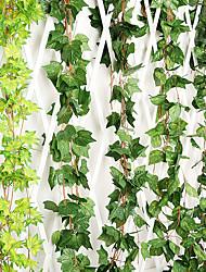 Недорогие -1 шт. Имитация виноградного листа трехмерная зеленая редька большой лист поддельные цветок ротанга потолок зеленый виноград инженерные украшения виноград чердак потолок ресторан гостиная украшение
