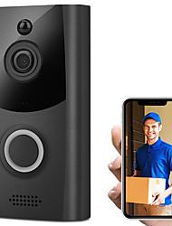 Недорогие -Беспроводной Смарт Wi-Fi дверной звонок ик видео визуальное кольцо камеры домофон домашней безопасности