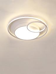 Недорогие -CONTRACTED LED® 3-Light Линейные / геометрический Потолочные светильники Рассеянное освещение Окрашенные отделки Металл LED, Новый дизайн 110-120Вольт / 220-240Вольт Теплый белый / Холодный белый
