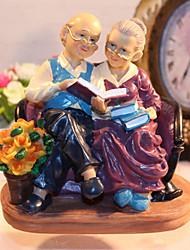 Недорогие -старые любители бабушки и дедушки украшения смолы игрушки