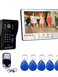Недорогие -815mjids11 проводной 7-дюймовый громкой связи 800 * 480 пикселей один на один видео домофон