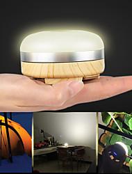 Недорогие -Походные светильники и лампы Аварийные лампы 230 lm Светодиодная лампа LED 2 излучатели 5 Режим освещения с батарейками Портативные Регулируется Новый дизайн