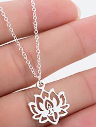 povoljno -Žene Ogrlica Kamen Rose Gold Zlato Pink 42 cm Ogrlice Jewelry 1pc Za Dnevno Škola Ulica Praznik Festival