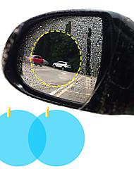 Недорогие -2 шт. Боковое окно автомобиля защитная пленка анти-туман водонепроницаемый антибликовая мембрана наклейка автомобиля круглый 80 * 80 мм