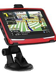Недорогие -5-дюймовый Windows CE 6.0 8G FM передатчик на нескольких языках автомобиль компас автомобильный GPS-навигатор с сенсорным экраном