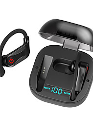 Недорогие -Оригинал powerhbq pro 62 спорт фитнес заушники tws правда беспроводные наушники bluetooth 5.0 наушники ipx5 водонепроницаемый двойной микрофоны 950 мАч чехол для зарядки