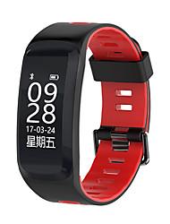 Недорогие -F4 умный браслет часы спорт артериальное давление кислорода в крови multi-motion mode ip68 водонепроницаемый двухцветный силикон