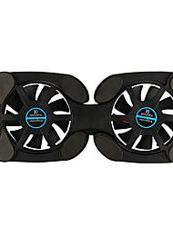 Недорогие -складные usb охлаждающие подставки для ноутбука с двойными вентиляторами мини-осьминог кулер для ноутбука охлаждающая подставка для ноутбука 7-15 дюймов