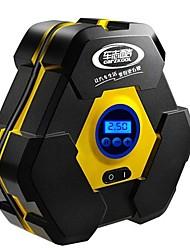 Недорогие -22 цилиндра цифровой дисплей портативный 12 В авто электрический воздушный насос шинный компрессор с 3 м длиной удлинитель
