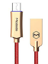 Недорогие -Макдодо рыцарь серии автоматическое отключение быстрая зарядка 3,0 микро USB кабель для передачи данных данных