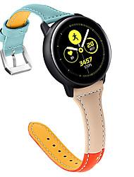 povoljno -Pogledajte Band za Gear S3 Frontier / Gear S3 Classic / Gear S3 Classic LTE Samsung Galaxy Klasična kopča Prava koža Traka za ruku