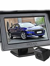Недорогие -Ziqiao 4,3-дюймовый автомобильный монитор TFT ЖК-дисплей камеры обратная камера парковочная система для автомобильного комплекта мониторов заднего вида