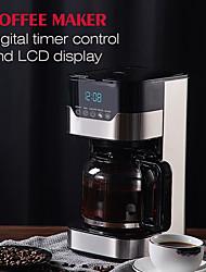 Недорогие -edoolffe md-259t компактная кофеварка электрическая капельница 1.5л с цифровым таймером