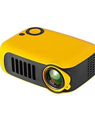 Недорогие -мини портативный проектор 800 люмен поддерживает 1080p жк 50000 часов лампа жизни домашний кинотеатр видеопроектор