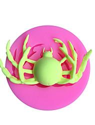 Недорогие -Хэллоуин паук силиконовые формы помадка украшения торта diy сахар ремесло шоколадные gumpaste формы смолы глины кухня выпечки инструменты