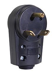 Недорогие -125v 30a rv розетка вилка мужской конец tt-30p запасной электрический адаптер
