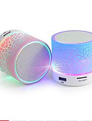 Недорогие -A9 Bluetooth-динамик мини беспроводной громкоговоритель трещины привело TF USB сабвуфер Bluetooth-динамики MP3 стерео аудио музыкальный проигрыватель