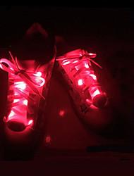 Недорогие -Светящиеся шнурки для
