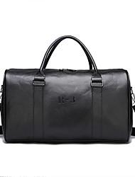 Недорогие -PU Молнии Дорожная сумка Сплошной цвет Повседневные Черный