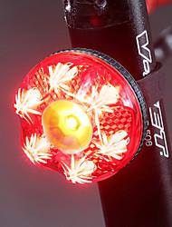 Недорогие -Светодиодная лампа Велосипедные фары задние фонари LED Велоспорт Водонепроницаемый Интеллектуальная индукция Автоматическая тормозная индукция Литий-полимерная 80 lm Перезаряжаемая батарея Красный