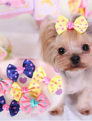 Недорогие -lureme точка шпилька волна питомцев собак (случайный цвет)