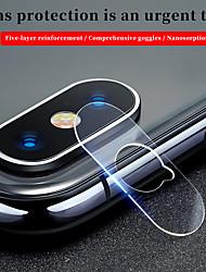 Недорогие -защитная пленка для экрана Apple iPhone XS / 7 8plus / 6splus / 6s 9d touch совместимая передняя панель&усилитель, усилитель; назад&усилитель, усилитель; протектор объектива камеры 2 шт.