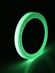 Недорогие -светоотражающая лента наклейки для автомобилей diy свет световой предупреждение свечение в темноте ночные защитные чехлы паста аксессуары модели 10 мм х 5 м