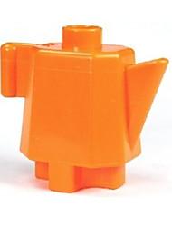 Недорогие -Пазлы 3D пазлы / Деревянные пазлы Строительные блоки DIY игрушки Чайник Дерево Серебристый Модели и конструкторы