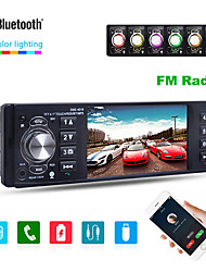 Недорогие -4019b 4,1 дюйма 1 din автомобильный радиоприемник авто аудио стерео автомобильный мультимедиа плеер поддержка bluetooth камера заднего вида usb руль пульт дистанционного управления