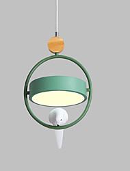 Недорогие -нордическая макарон с тремя головами столовая лампа привела спальня с одной головкой бар прихожая люстра