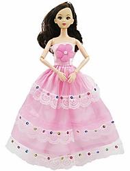 Недорогие -Игрушечные наборы Люди Губы Очаровательный обожаемый Милый Принцесса Альт Полипропилен + ABS Детские Для подростков Все Игрушки Подарок 1 pcs