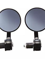Недорогие -7/8 чпу универсальный мотоцикл руль черное зеркало заднего вида