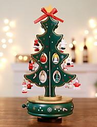 Недорогие -Рождественские украшения Новогодняя ёлка деревянный Рождественская елка Оригинальные Рождественские украшения