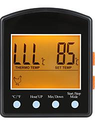 Недорогие -LITBest TP6051 Мини / Портативные термометр BBQ Temperature measurement range: -50 ° C ~ 300 ° C Измерение температуры и влажности, LCD дисплей, Функция временной памяти