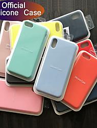 Недорогие -Роскошный оригинальный официальный силиконовый чехол для iphone 7 8 plus для apple case для iphone x xs max xr iphone 11 pro max чехол