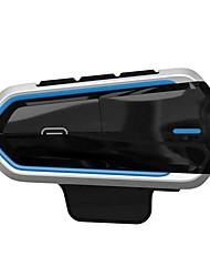 Недорогие -мотоциклетный шлем гарнитура mp3 микрофон с функцией bluetooth синяя рамка qtb35