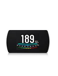 Недорогие -P12 HUD Head Up Display многоцветный автомобиль спидометр цифровой горизонтальный отражающий проектор