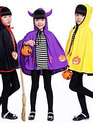 Недорогие -хэллоуин маскарад бумажная игра маленький дьявол рога пальто милые мальчики и девочки хеллоуин костюмы костюмы