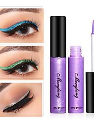 Недорогие -13 цветов блеск для глаз жидкие тени для век косметика водонепроницаемый переливающийся пигмент серебро золото металлик блестит макияж