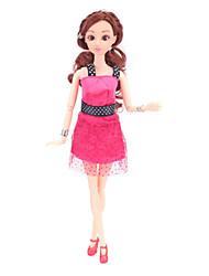 Недорогие -Платье куклы Кукольный наряд На каждый день Для Barbie Полиэстер Пальто / Больше аксессуаров Для Девичий игрушки куклы