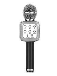 Недорогие -ws-1818 bluetooth-караоке беспроводной микрофон спикер домашняя школа событие певец поет беспроводной бас мобильный караоке