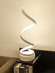 Недорогие -спираль изогнутый настольный светильник настольный светильник современный минималистский дизайн освещения акриловый материал идеально подходит для спальни гостиной золотой белый