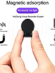 Недорогие -Профессиональный мини аудио диктофон легко скрыто 600 часов записи магнит цифровой 8g 16g HD диктофон шумоподавления на большие расстояния