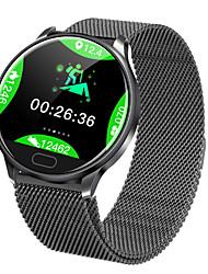 Недорогие -Смарт Часы Цифровой Современный Спортивные силиконовый 30 m Защита от влаги Пульсомер Bluetooth Цифровой На каждый день На открытом воздухе - Черный Золотистый Черный / серый