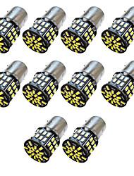 Недорогие -10шт 1156/1157/1142 авто светодиодные лампы 2 Вт smd 3014 250 лм 54 светодиодный боковой маркер автомобиля чтение карты дверь купол лампа интерьер номерного знака свет белый теплый белый dc 12v