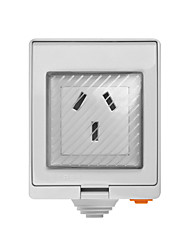 billige -sonoff s55 tpf-de wi-fi vanntett smart stikkontakt - au plug