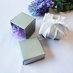 立方体 パール紙 好意のホルダー とともに ラッピングボックス/ギフトボックス